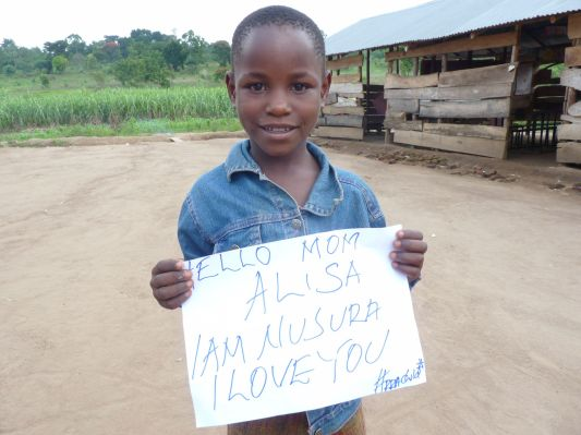 revive a rural african child | letters with love