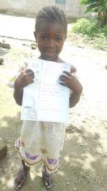 Mariatu and her update
